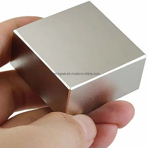 50mm x 25mm x 10mm Grade N38 Super Strong Large Thick Neodymium Block Magnets