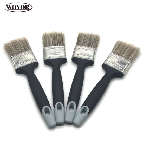 Hand Tools Paint Brushes Bristle or Synthetic Filament with Plastic or Wooden Handle pictures & photos