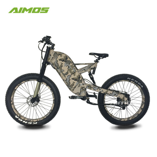 Full Suspension Mountain Fat Tire Electric Trek Bike