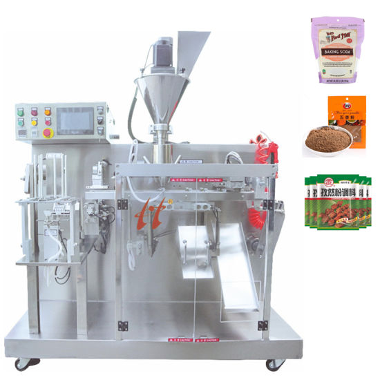 Fully Automatic Premade Bag Horizontal Cooking Spice/Baking Soda/Seasoning Powder Packing Machine