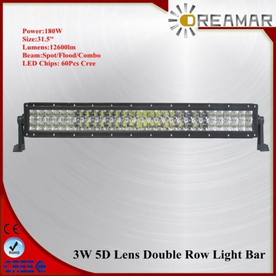 120W. 180W, 240W, 300W 5D CREE Double Row LED Light Bar pictures & photos