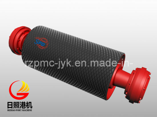 SPD Belt Conveyor Pulley with Rubber Lagging pictures & photos