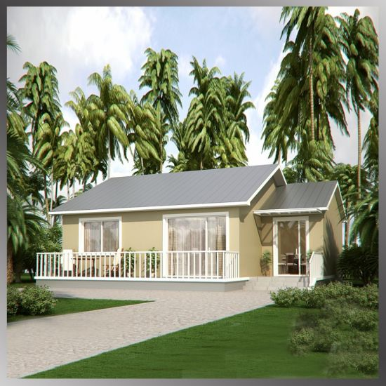 Prefab Villa Luxury Prefab Light Steel Villa /Prefabricated Houses /Prefab House Building