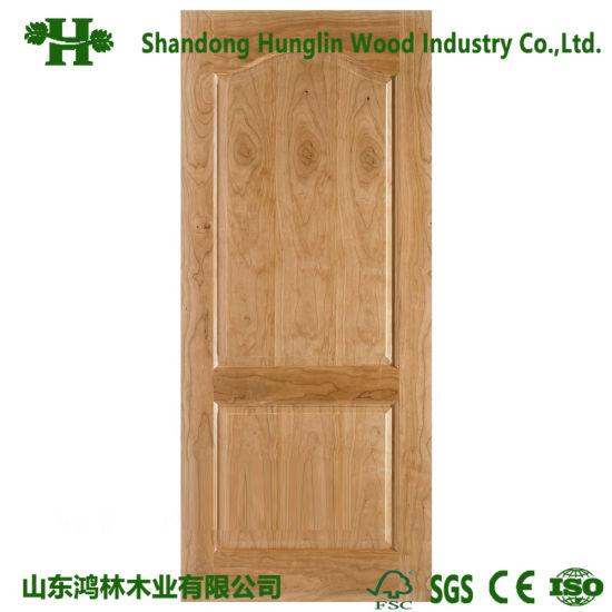 China Solid Wood Veneer Hdf Door Skin