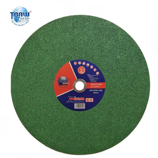 China Factory Free Sample Cut off Wheel 16 Inch, Abrasive Cutting Disc 400*3.0*25mm