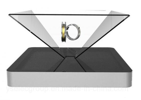 Yashi 19 Inch 360 Degree 3D Holographic Display Box Advertising Full Circle Viewing