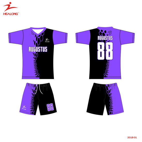 f0be78eb5 Healong Sportswear New Fashion Design Sublimation Soccer Jersey pictures &  photos