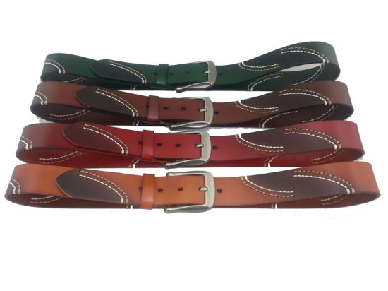 Italy Style Leather Spring Men Belt