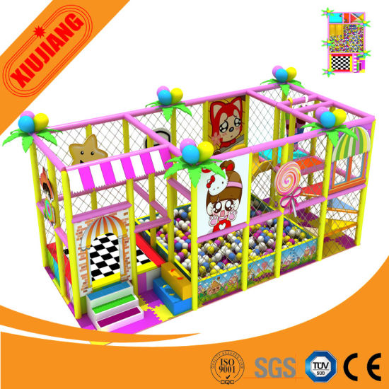 2015 New Attractive Proof Children Commercial Indoor Playground Equipment (XJ5032)