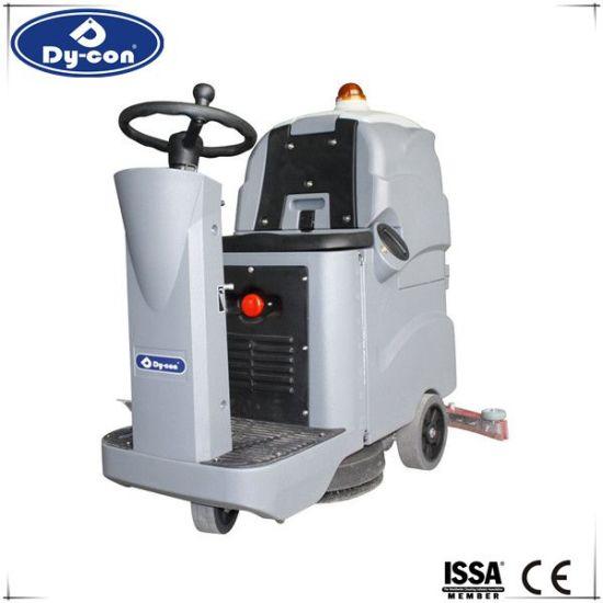 China New Design Tile Ceramic Floor Scrubber Machine For Hospital