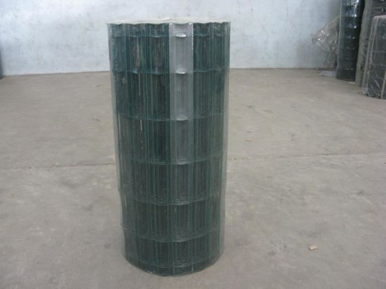 Welded Yard Guard Holland Wire Mesh PVC Coating Euro Fence