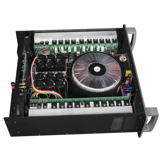 Strong Circuit 3u Power Amplifier (1500wx2 8 Ohms) SX3000