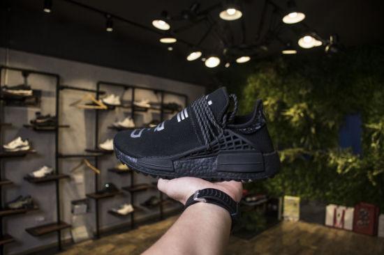 cf5cd0189 Human Race Running Shoes Pharrell Williams Hu Trail Cream Core Black Nerd  Equality Holi Nobel Ink Trainers Mens Women Sports Sneaker