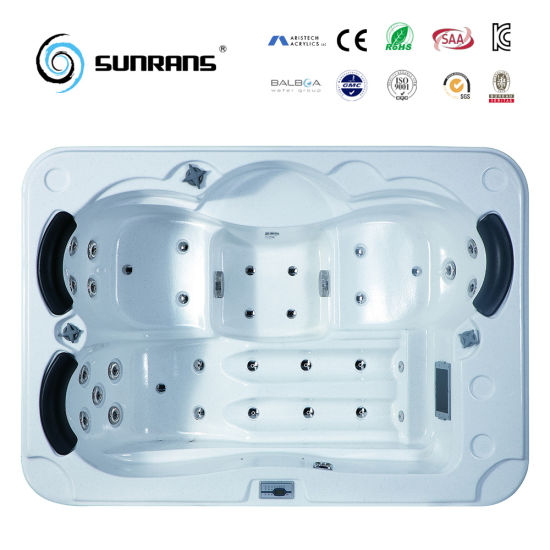 Sunrans China Wholesale Lowest Price with Balboa Hot Tub for 3 Person pictures & photos
