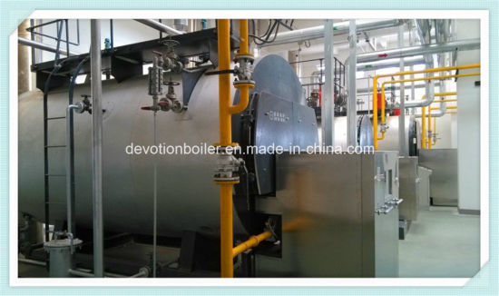 Horizontal 8t/H 3 Pass Wet Back Fire Tube Steam Boiler pictures & photos