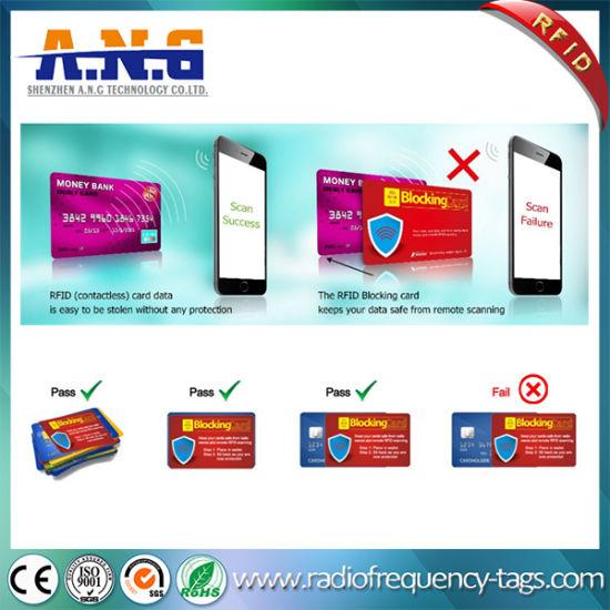 China Facebook ID Card Shield / Hf RFID Smart Card Credit