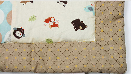 Baby Quilt Design with Cute Deer Lovely for Unisex Baby pictures & photos