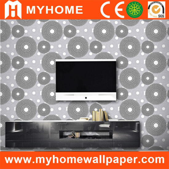 Wall Panel Modern Design Wall Paper with Circles
