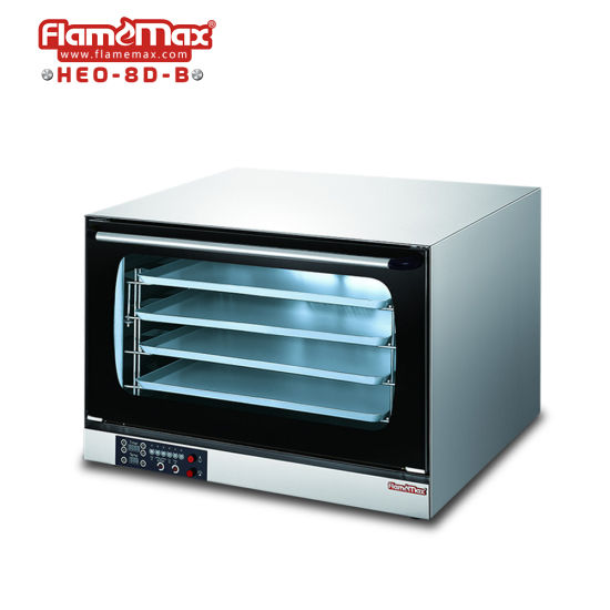 Stainless Steel Electric Commercial Digital Turbo Oven (HEO-8D-B)