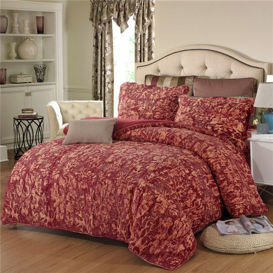 aa1aa9edc54 China 100% Cotton Quilted Duvet Cover Set by Stone Washed - China ...