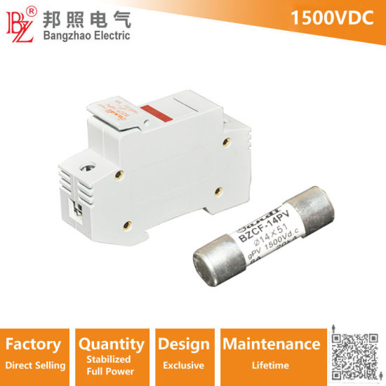 Solar Engergy DC 1500V 1A to 30A PV Fuse with Fuse Holder 1500VDC