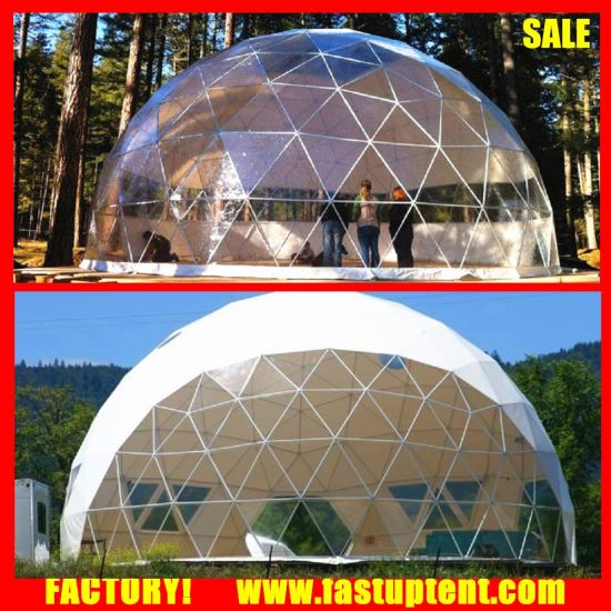 New Big Geodesic Round Dome Steel Frame Tent for Sale pictures u0026 photos & China New Big Geodesic Round Dome Steel Frame Tent for Sale - China ...