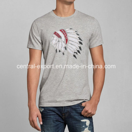 New Style Fashion Cotton Printed Men T-Shirt pictures & photos