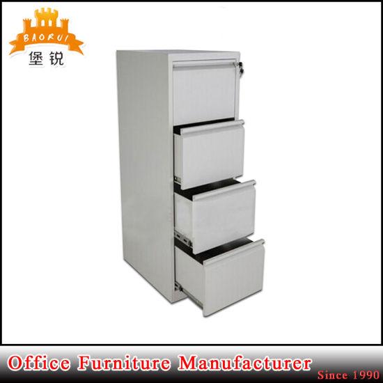 Steel Office Furniture Manufacturer Modern 4 Drawer Steel File Cabinet