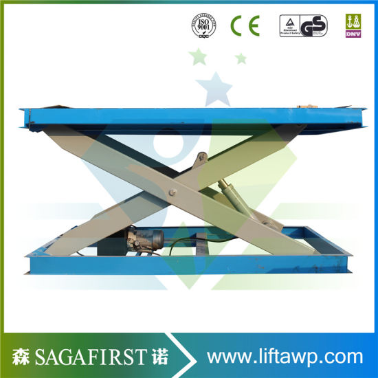 China 2ton Hydraulic Scissor Lift Table Suppliers pictures & photos