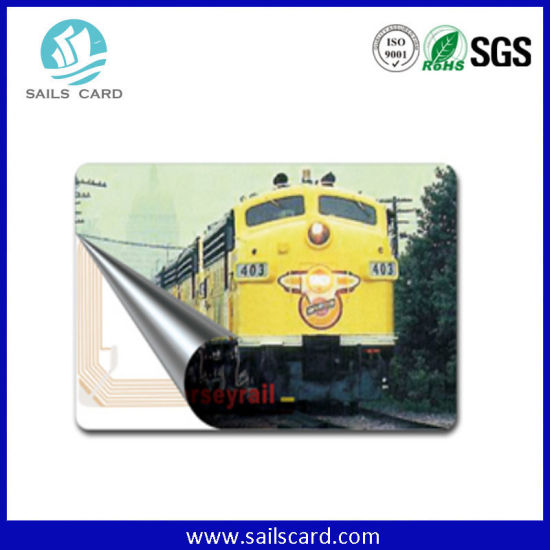 13.56MHz Printible Blank Proximity Smart Card with Laser Uid Code pictures & photos