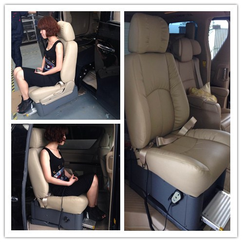 Easy Operate S-Lift Swivel Car Seat Load 150kg for Disabled and Elder pictures & photos