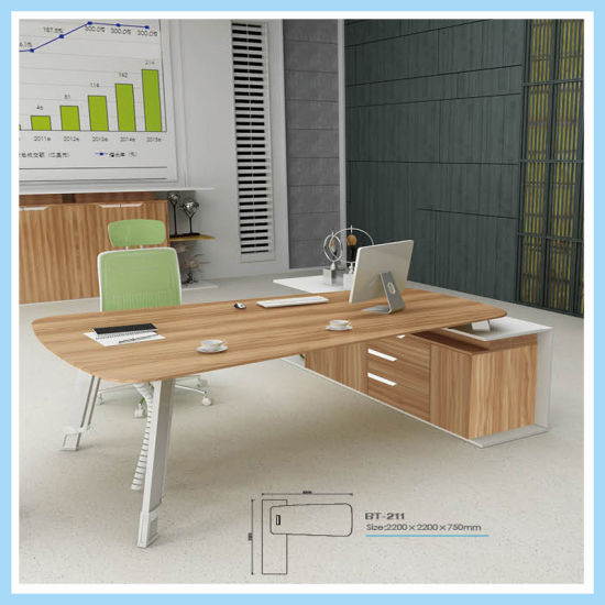 Clic Modern Small Office Table Design Staff Working