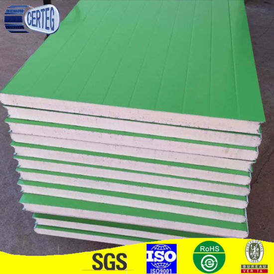 Color Coated Steel Insulated PU Sandwich Panel