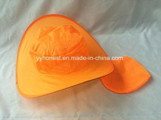 8ddccb28c China Hot Selling Logo Printed Advertising Folding Cowboy Hat for ...