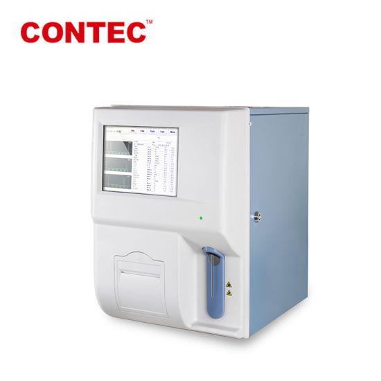 Ha3100 Medical Fully Automatic Hematology Blood Analyzer Price 3 Parts  Hematology Machine