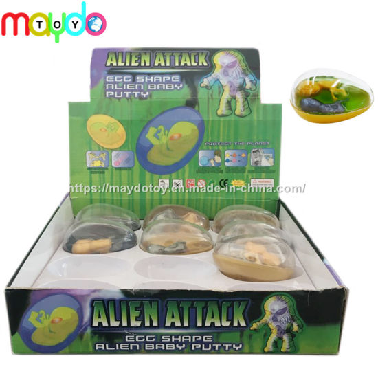 Novelty Alien Placenta Crystal Slime Putty Toy