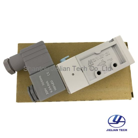 Made in Taiwan Mindman Solenoid Valve Mvsc-220-4e1 (AC220V) pictures & photos