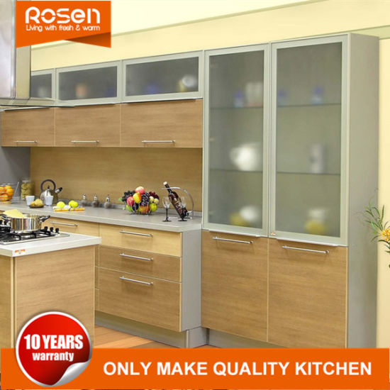 Maple Colors Simple Style Melamine Kitchen Cabinets Furniture
