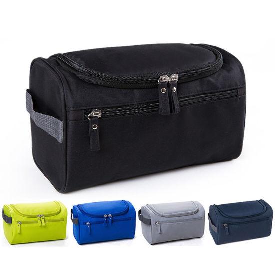 Waterproof Men Hanging Makeup Bag Nylon Travel Organizer Cosmetic Bag for Women  Large Necessaries Make up e35cbd0ce337b