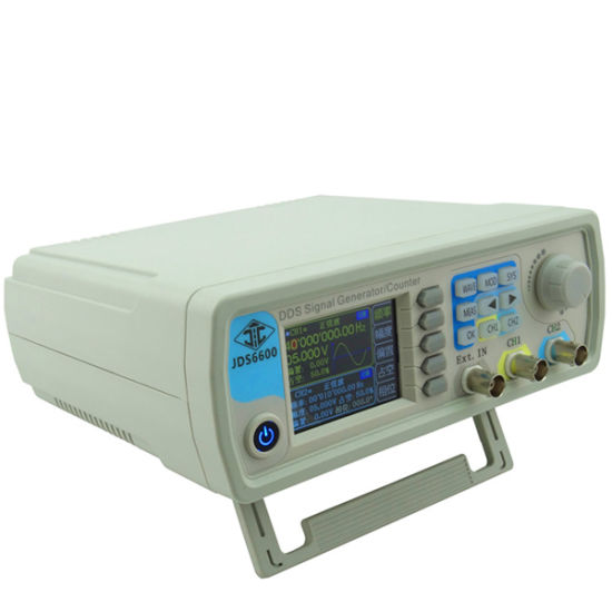 China Jds6600 Dds Signal Source Dual Channel Arbitrary Wave Function