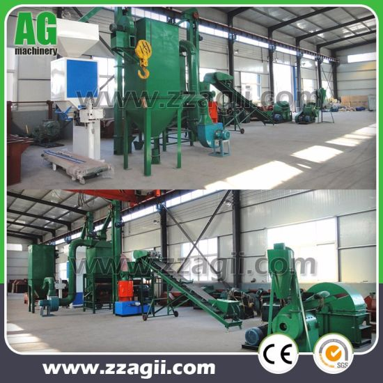 Flat Die Ring Die Complete Wood Pellet Production Line Price pictures & photos