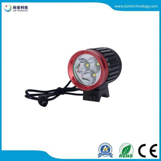 NEW 3 x CREE XM-L T6 LED Bicycle bike HeadLight Head Light Lamp Torch Flashlight