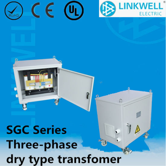 New Type Sgc Three Phase Dry-Type Transformers with Metal Enclosure pictures & photos