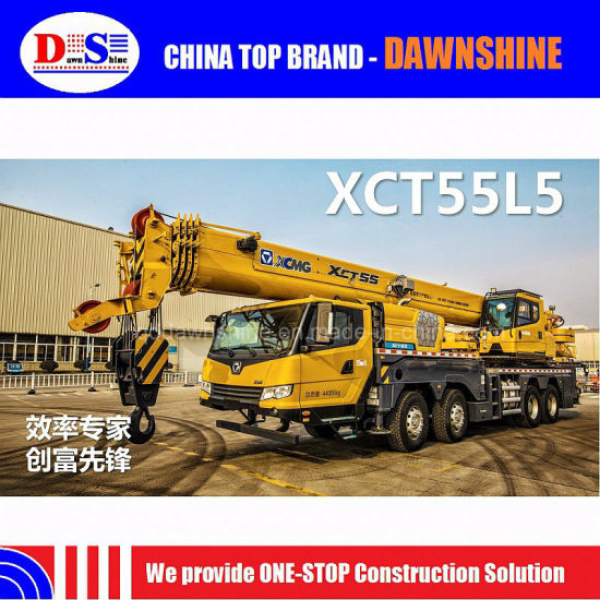 Xct55L5 New Generation Energy Saving Mobile Crane 55 Ton pictures & photos