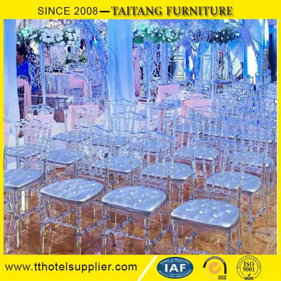 Acrylic PC Clear Napoleon Chair Wedding Chair pictures & photos