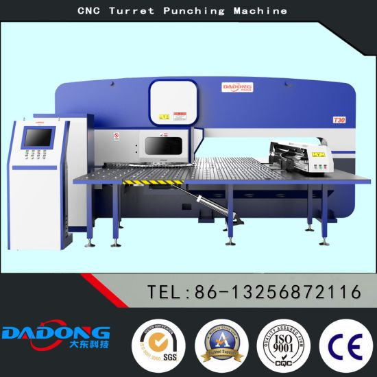 China D-T3024 Auto-Index CNC Turret Punch Press Special with Siemens