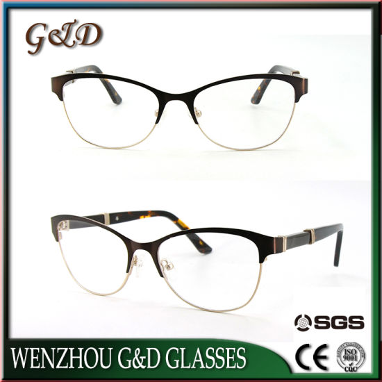 China Classic Design Model Optical Frame Spectacle Metal Wholesale ...