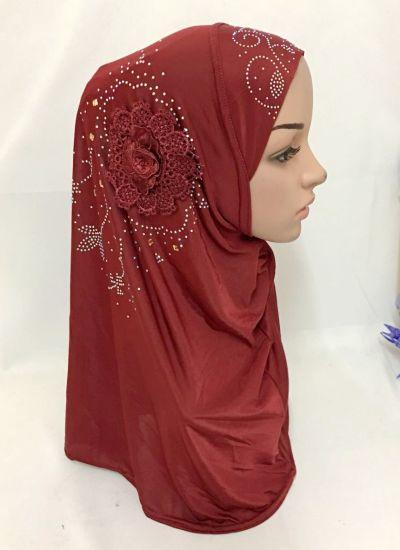 Islamic Ladies Head Scarf Headwear Muslim Hijab Inner Cap Wrap Shawl Scarf  Ramadan Arab Amira Headscarf