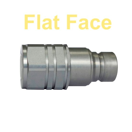 Flat Face Hydraulic Hose Quick Disconnects Couplings ISO 16028