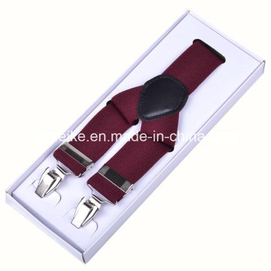 Classical Men Suspenders Plain Multicolor (BD1003)